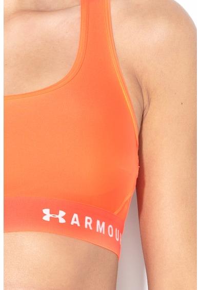 Under Armour Közepes tartást biztosító sportmelltartó keresztezett pánttal a hátoldalán női