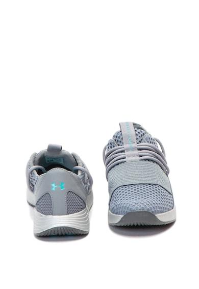Under Armour Pantofi din plasa si piele, pentru antrenament Femei