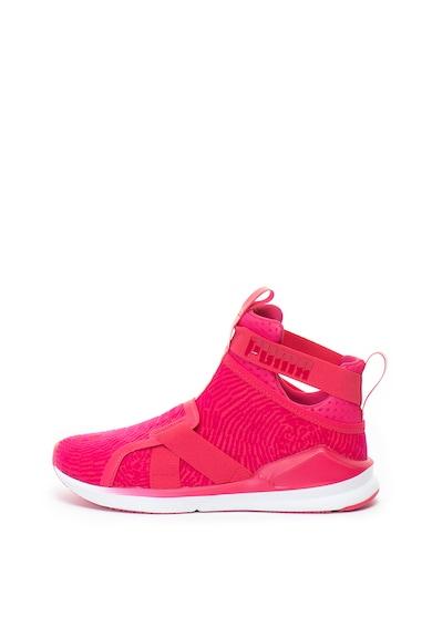 Puma Pantofi slip-on cu detalii catifelate, pentru fitness Fierce Femei