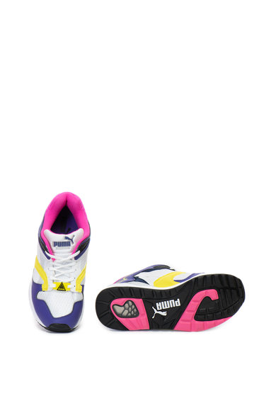 Puma Pantofi sport din material textil si piele ecologica Trinomic XS 850 Plus Femei