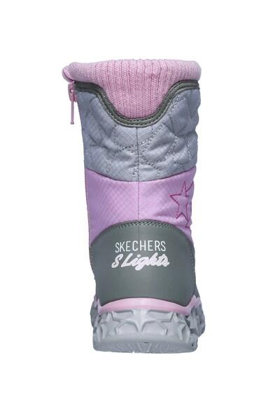 Skechers Galaxy LED-fényes csizma Lány