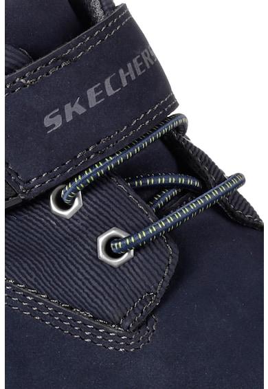Skechers Mecca műbőr bakancs Fiú