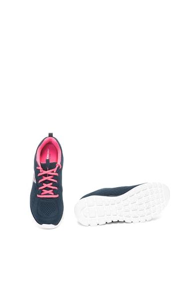 Skechers Pantofi sport usori cu aspect tricotat si spuma de memorie Graceful Femei