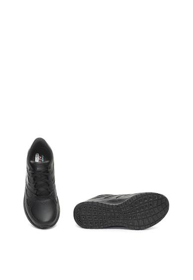 Skechers Pantofi sport cu design perforat si piele Skyline-Transient Femei