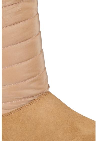 Skechers Joy bebújós nyersbőr és textil csizma női