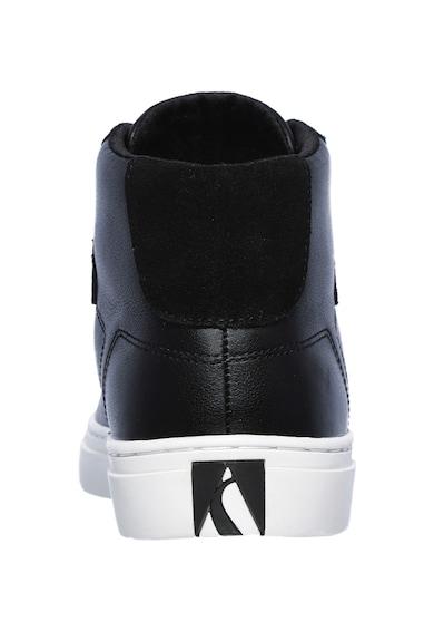 Skechers Side középmagas szárú bőrcipő női