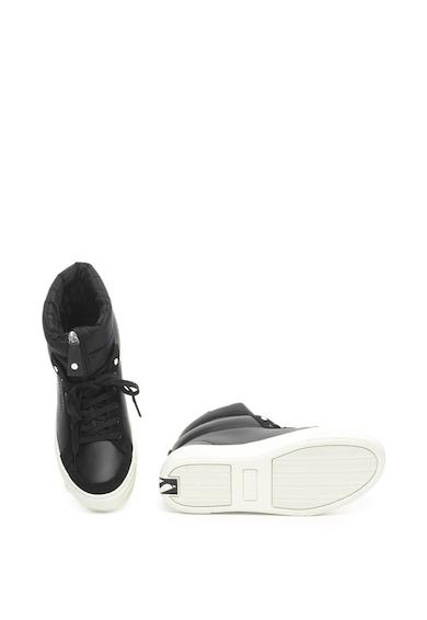Skechers Alba magas szárú bőr flatform sneakers cipő női