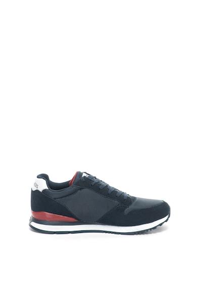 Skechers Sunlite sneakers cipő nyersbőr szegélyekkel férfi