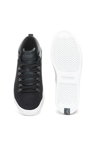 Skechers Side Street  nyersbőr sneakers cipő férfi