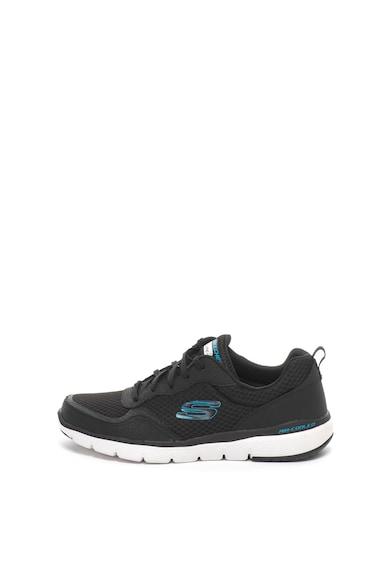 Skechers Pantofi sport cu garnituri de piele Flex Advantage 3.0 Barbati