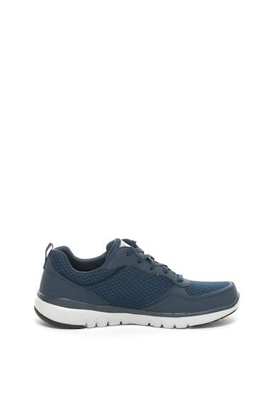 Skechers Flex Advantage 3.0 könnyű súlyú bőr és hálós anyagú sneakers cipő férfi