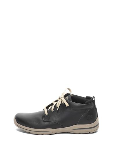 Skechers Pantofi casual de piele Harper Melden Barbati