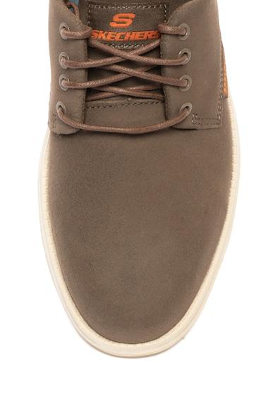 Skechers Pantofi casual de piele nabuc Versen Barbati