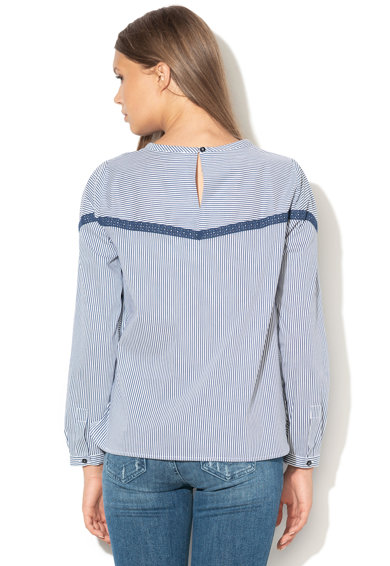 Marella Bluza in dungi cu insertii de dantela Ciop Femei