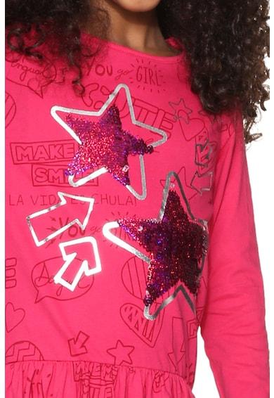 DESIGUAL Star grafikai mintás ruha Lány