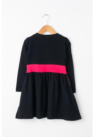 DESIGUAL Rouge bővülő ruha mandalamintával Lány