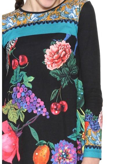 DESIGUAL Virágmintás ruha Lány