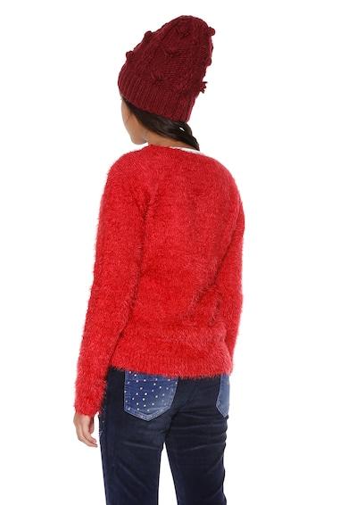 DESIGUAL Мъхест пуловер Jers Gabo с бродерия Момичета