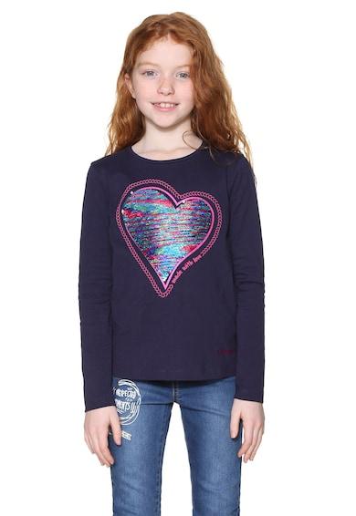 DESIGUAL Блуза с двулицеви пайети Момичета