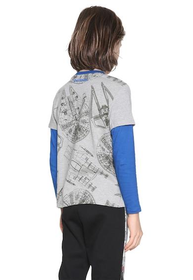 DESIGUAL Bluza cu aspect 2 in 1 Oskar Baieti