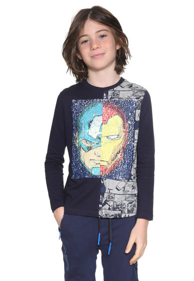 DESIGUAL Bluza cu paiete reversibile Edu Baieti