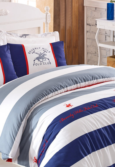 Beverly Hills Polo Club Lenjerie de pat, 100% bumbac ranforce Femei