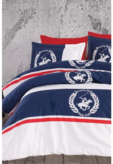 Beverly Hills Polo Club Lenjerie de pat pentru 2 persoane, 100% bumbac satinat Femei
