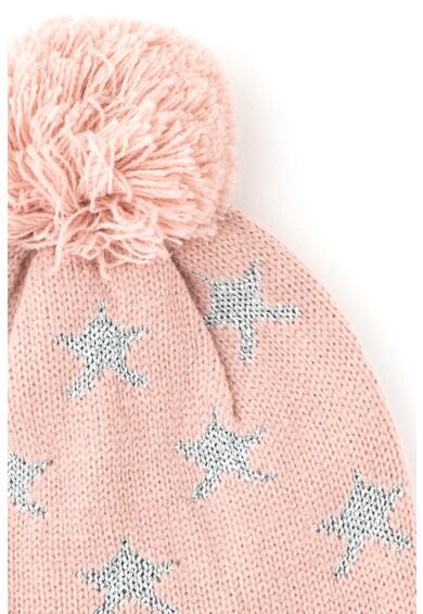 Tom Tailor Kids Плетена шапка с бляскави детайли Момичета
