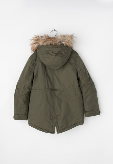 Tom Tailor Kids Vízlepergető, kapucnis téli parka kabát Lány