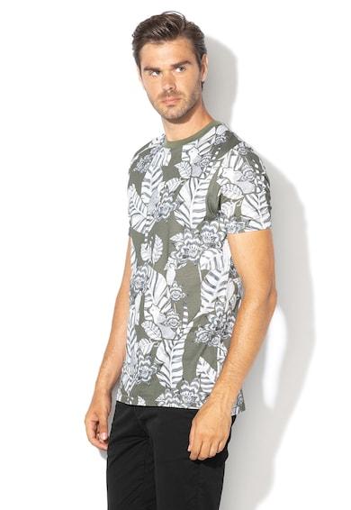 Ted Baker Тениска с овално деколте и десен Мъже