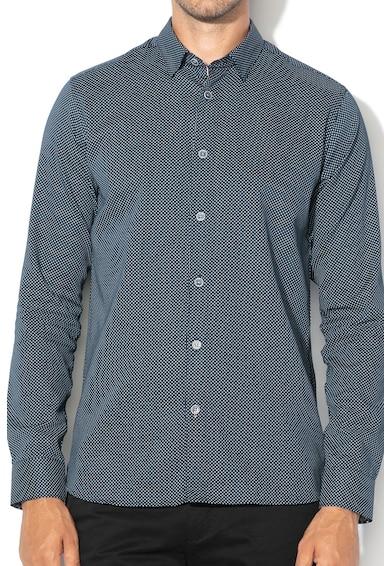 Ted Baker Риза с фигурален десен Мъже