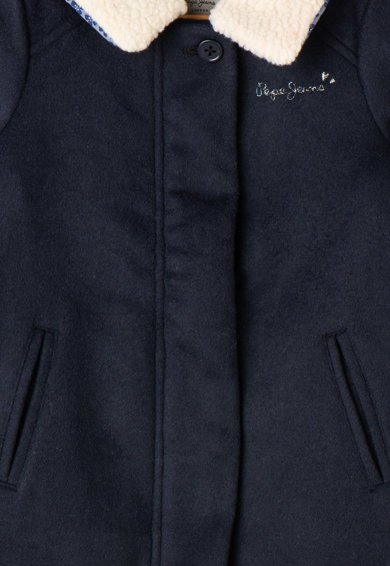 Pepe Jeans London Леко подплатено палто шерпа Jada Момичета