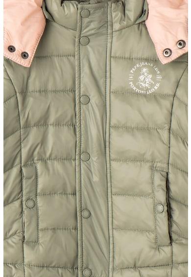 Pepe Jeans London Подплатено зимно яке с отделяща се качулка Момичета
