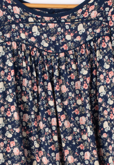 Pepe Jeans London Bluza lejera cu imprimeu floral Taylor Fete