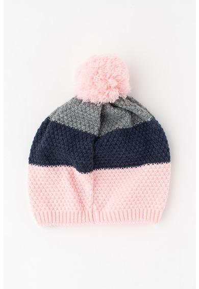 Cocomo Раирана шапка с помпон Момичета