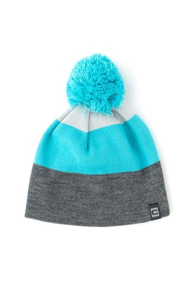 Cocomo Раирана шапка с помпон Момчета