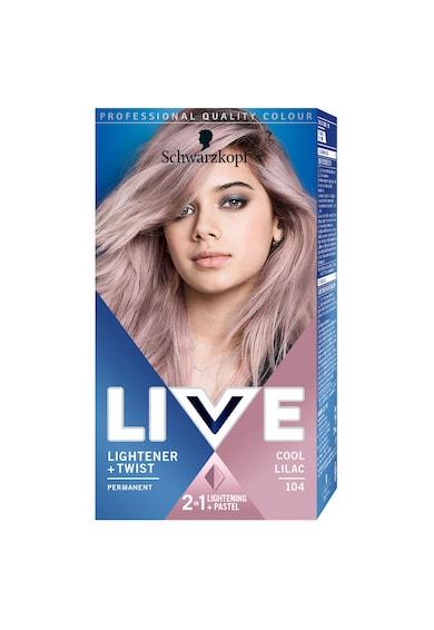 Live Vopsea de par permanenta  142.5 ml Femei