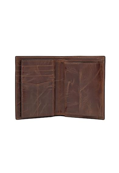 Fossil Кожен портфейл с двойно прегъване Мъже