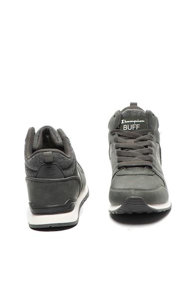 Champion Pantofi sport mid high de piele ecologica Buff Barbati