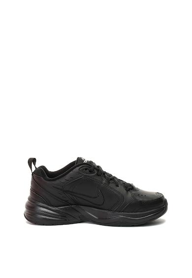 Nike Pantofi sport de piele si piele ecologica, pentru fitness Air Monarch Barbati