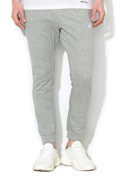 Nike Pantaloni sport regular fit cu croiala conica Barbati