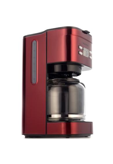 Daewoo Cafetiera  , 1000 W, 1.5 l, Filtru permanent, Timer 24 ore, Indicator nivel apa, Design ergonomic, Rosu/Negru Femei