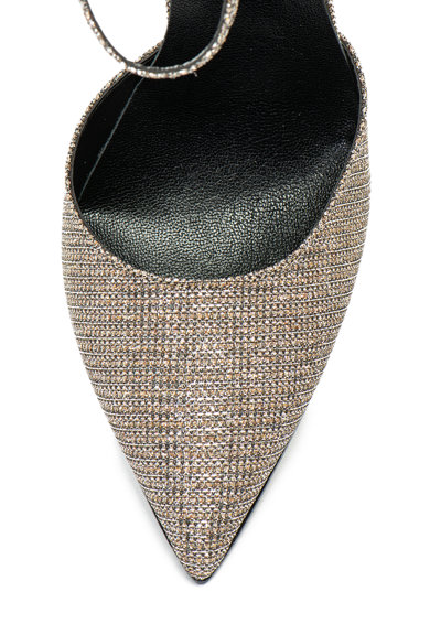 Zee Lane Collection Pantofi D'orsay cu bareta pe glezna si insertii stralucitoarea Pamelita Femei
