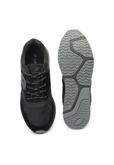 Lotto Pantofi sport cu insertii de piele intoarsa ecologica Lecco Barbati