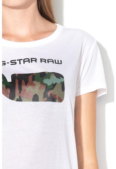 G-Star RAW Tricou cu detaliu cu model camuflaj Xinva Femei