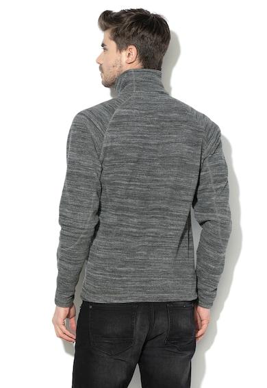 ELLESSE Bluza din fleece cu fermoar, pentru schi, Gri, Barbati