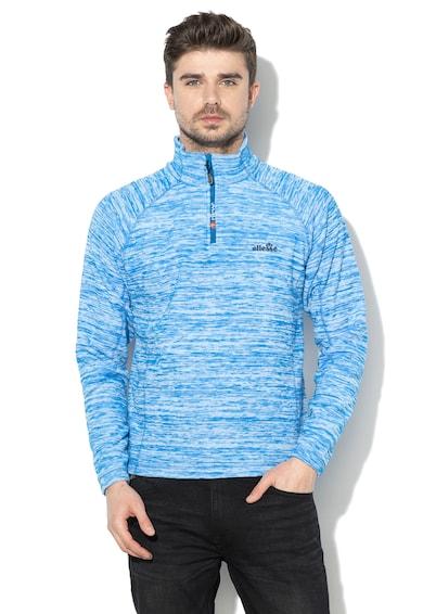 ELLESSE Bluza din fleece, cu fermoar scurt, pentru schi Barbati
