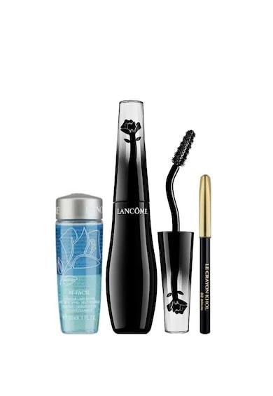 Lancome Set  Grandiose: Mascara no.01 Black + creion Le Crayon Khol Black + demachiant Bi-Facil, 30 ml Femei
