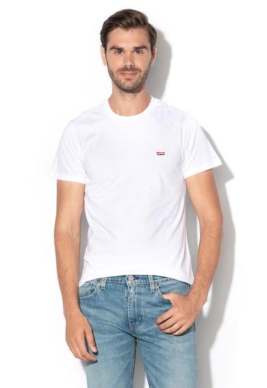 Levi's Памучна тениска с бродирано лого Мъже