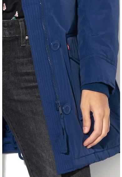 Levi's Vízlepergető pihével bélelt parka kabát műszőrme szegéllyel női